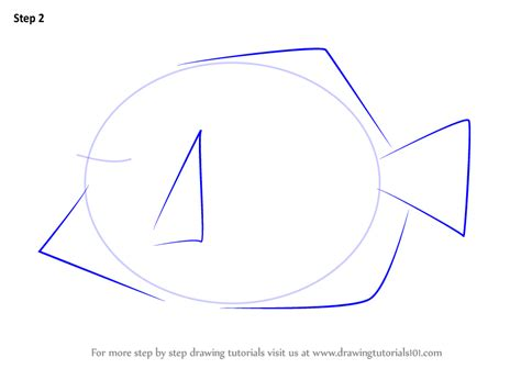 yellow tang coloring page learn how to draw a yellow tang fishes step by step
