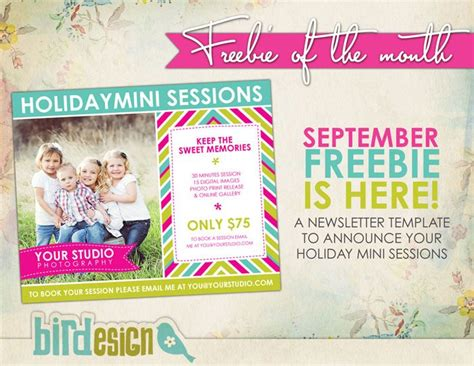 free photoshop card templates for photographers free photoshop templates marketing board template to announce mini sessions photo cards