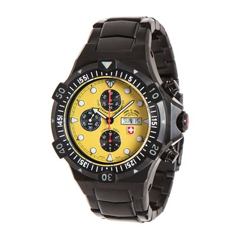 Swiss Navy 1133mb Coklat Yellow In Collection conger nero chronograph automatic 2558 swiss touch of modern