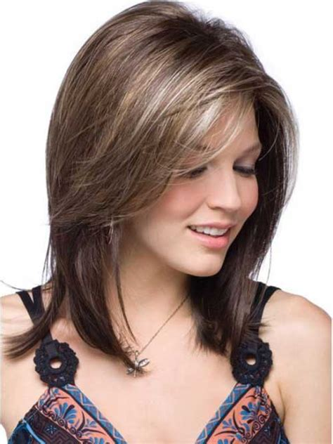 quick hairstyles for straight medium length hair 20 best short to medium length haircuts short hairstyles