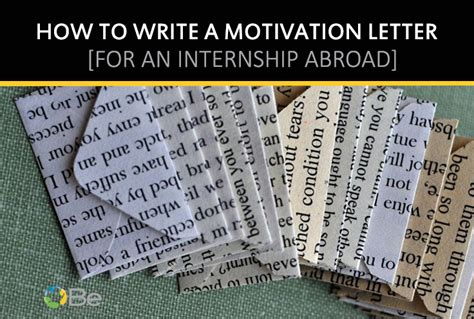 writing a cover letter for an internship abroad cover