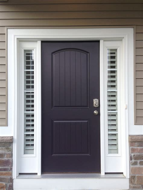 Entry Door With Side Windows Entry Door Sidelight Window Shutters Sunburst Shutters