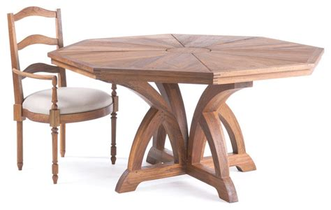 link furniture ruseau octagonal table traditional