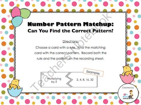 pattern games for grade 7 number patterns 3rd grade games 1000 ideas about number