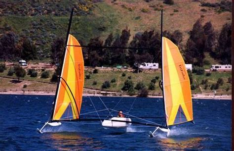 hobie hydrofoil boat research hobie cat boats trifoiler racing sailboat boat on