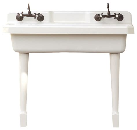 Kitchen Sink With Legs Harborview Kitchen Farm Sink Vintage Style Utility Sink With Legs Farmhouse Kitchen Sinks