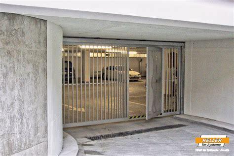 brandschutz garage tiefgaragen schiebetore tiefgaragentor schiebetor