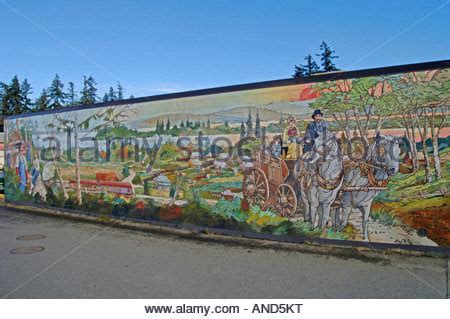 Wall Murals Vancouver Island Chemainus Open Air Wall Murals Vancouver Island Bc