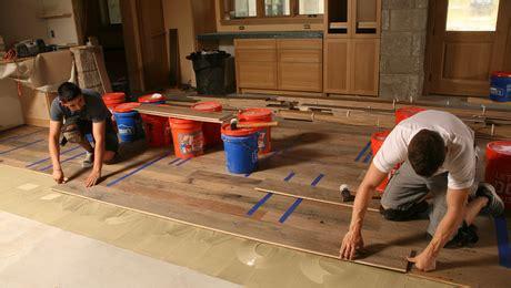 Master Carpenter: Wood Floors on a Concrete Slab   Fine