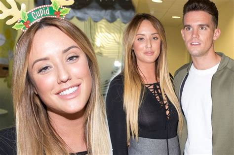 is this what charlotte crosby did to gary beadle s hair charlotte crosby and gaz beadle put on a very cosy display