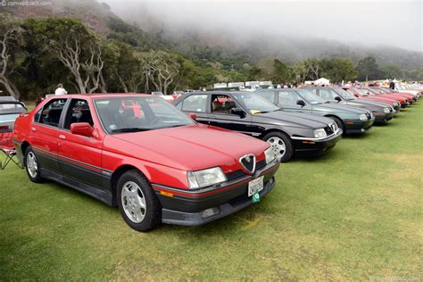1991 Alfa Romeo 164 by 1991 Alfa Romeo 164 At The 28th Annual Concorso Italiano