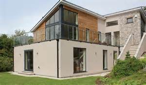House Plans And Design Contemporary Timber Frame House Contemporary House Plans Uk