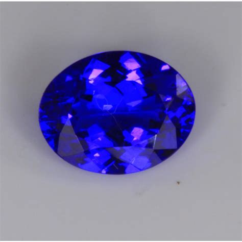 what color is tanzanite tanzanite oval gemstone with exceptionally blue color