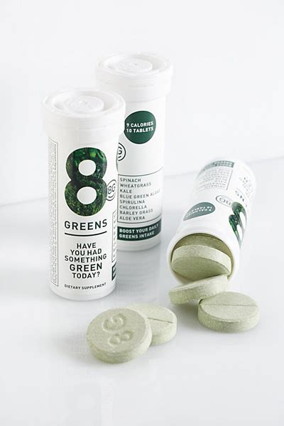 8 greens supplement 8g 8 greens vitamins and minerals dissolving tablets