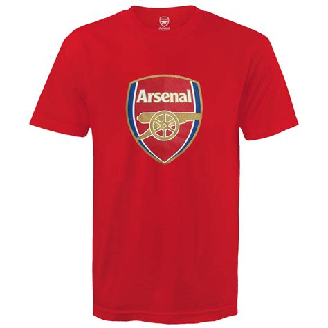 Tshirt Arsenal 24 arsenal football club official soccer gift mens crest t