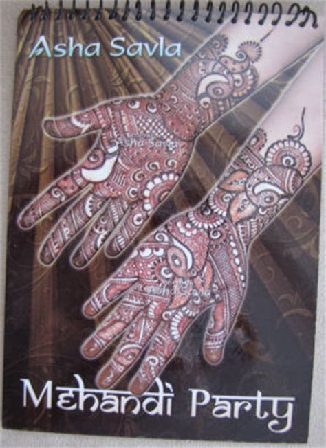 henna design book review henna asha savla 2010