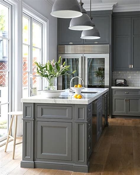 grey kitchen island best 25 grey kitchen island ideas on gray