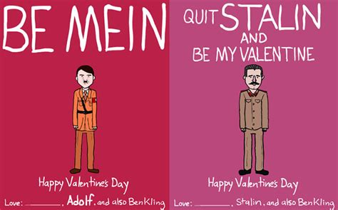 dictator valentines cards dictator and day cards by ben