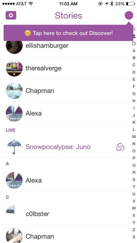 Home Design Story Usernames snapchat s discover feature in photos the verge