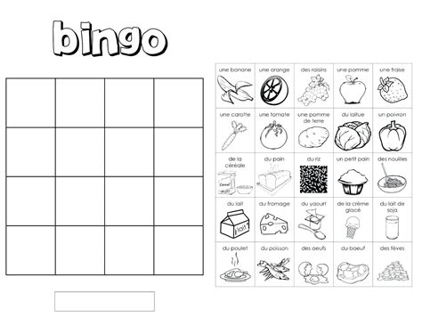 Blank Bingo Card Template 4x4 by Contemporary 4x4 Bingo Template Model Resume Ideas