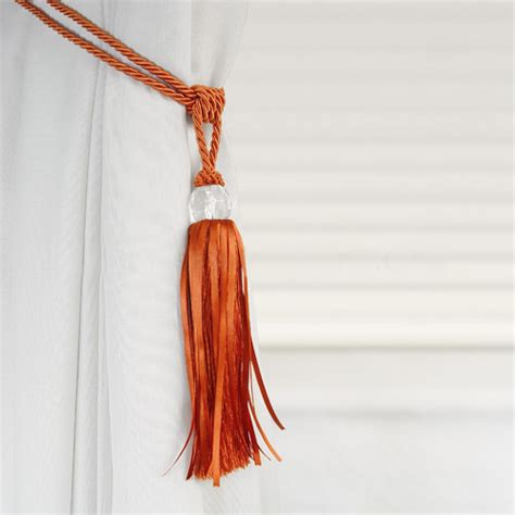 curtain tassel tie backs crystal beaded tiebacks tassel curtain tie backs tieback