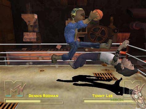 celebrity deathmatch original mtv s celebrity deathmatch original xbox game profile