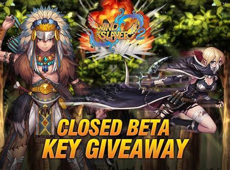 Beta Giveaway - exclusive closed beta giveaway for windslayer 2