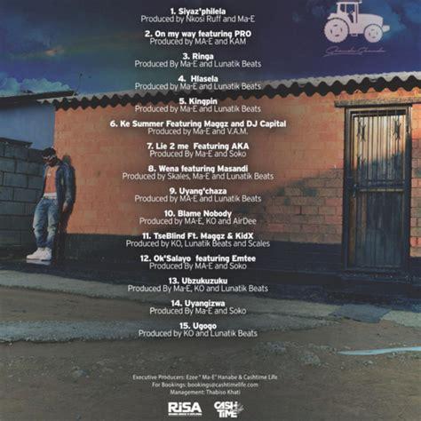 ma e check out ma e s township counsellor album tracklist sa
