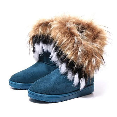 boots with the fur for s bohemian winter boots with fur on luulla