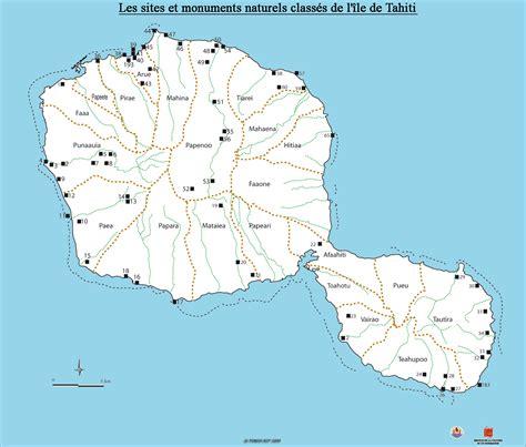 infos sur carte tahiti carte arts  voyages