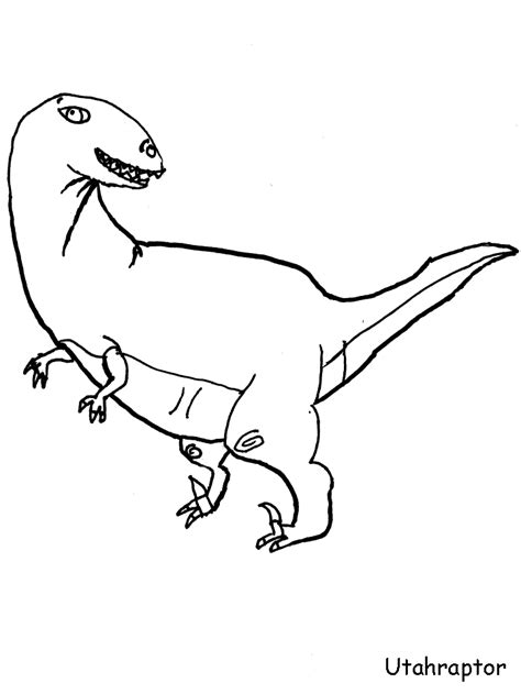troodon coloring page az coloring pages