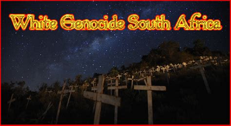 white genocide in south africa white genocide south africa more white crosses were