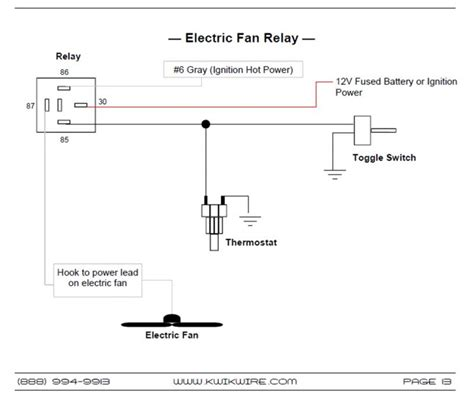 electromagnetic relay circuit diagram electric fan wiring diagram with relay wiring diagram