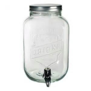 distributeur de boisson en verre 3 5l cadeau maestro