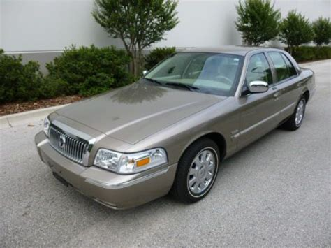 how to sell used cars 2006 mercury grand marquis seat position control sell used 2006 grand marquis ls 5 300 miles limited edition in orlando florida united