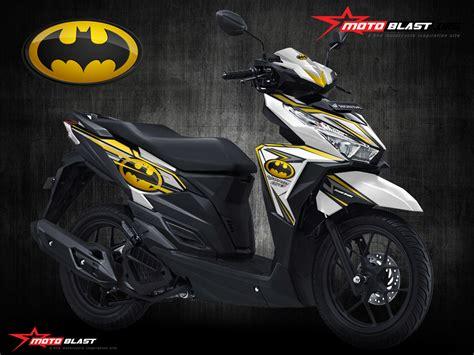 Striping Vario 150 Dan 125 Led 1 modif striping honda vario 150esp white batman motoblast