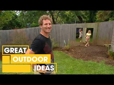 homes  gardens diy   build  pivot fence