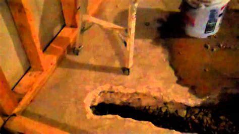 plumbing in a basement bathroom mp4