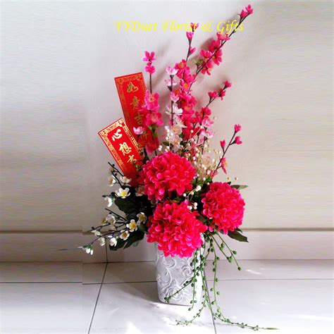 new year plant decorations new year table arrangement malaysia florist pj
