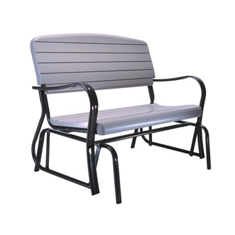 lifetime benches lifetime outdoor glider bench putty 2871