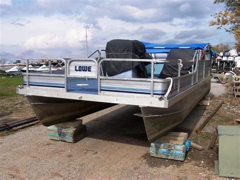 lowe boats forum pc3flyr 1987 lowes fish n fun rebuild done pontoon forum