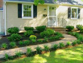 simple front yard landscaping pictures all in one home