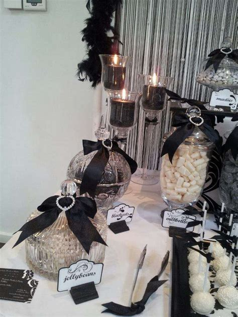 black and white birthday party ideas photo 1 of 12