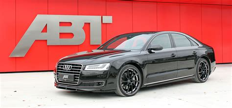 Audi A8 Facelift by Audi A8 Facelift Modified By Abt Sportsline Complexmania