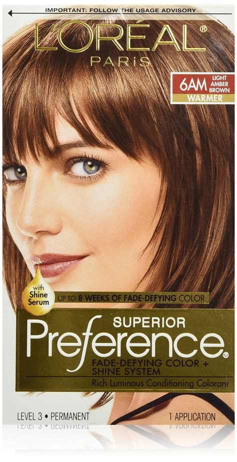 loreal auburn hair color l or 233 al superior preference permanent