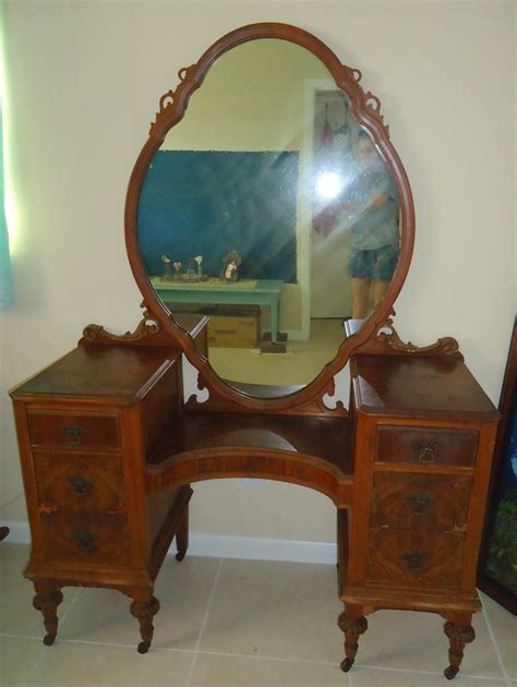 antique bedroom vanity with mirror vanity my antique furniture collection
