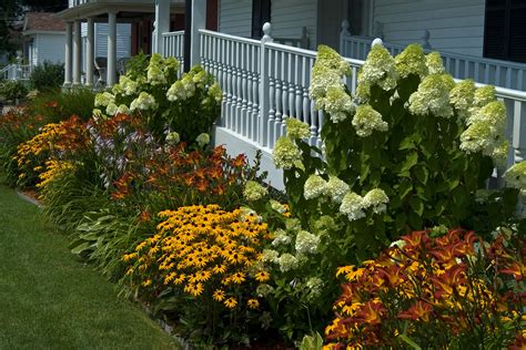 Shrub Garden Ideas Garden Design With Hydrangea