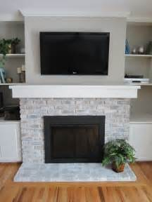 25 best ideas about brick fireplace makeover on