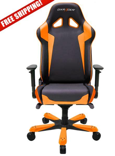 Ewin Special Series Black Orange White Gaming Chair Kursi Gaming 1 dxracer sentinel series oh sk00 no orange and black gaming chair chs chairs