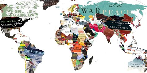 the world books this literature map of the world is simply brilliant indy100